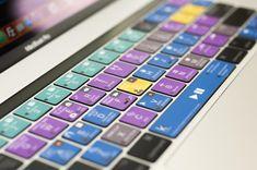 Mandala Art Yoga Sitting Spiritual Nebula Stars Printed Design Keyboard Decals by Smarter Designs for 13 and 15 inch MacBook Air//Pro//Retina