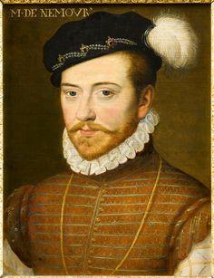 Portrait of Jacques of Savoy, Duke of Nemours (1531-1585)