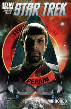 First look at evil goateed Zachary Quinto Spock