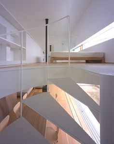 Escalera de caracol de Tekuza Architects