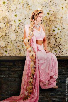 Photo de mariage - la princesse disney indienne Raiponce #Disney #Razpunzel