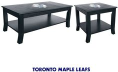 Use this Exclusive coupon code: PINFIVE to receive an additional 5% off the Toronto Maple Leafs Table Set at SportsFansPlus.com Man Cave Bathroom, Toronto Maple Leafs, Detroit Red Wings, Outdoor Furniture, Outdoor Decor, Nhl, Hockey, Ottoman, Coupon