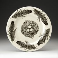 Laura Zindel's ceramic plate collection @ The Bone Room