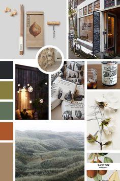 "Moodboard ""authentique et nature"" Mood Board Inspiration, Layout Inspiration, Makeup Inspiration, Mood Board Interior, Interior Design Living Room, Vision Board Diy, Modern Color Schemes, Mood And Tone, Web Design"
