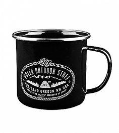 Poler Camp Mug, Black : Iron & Resin