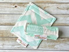 Luggage Handle Wrap Covers Set of 2 Reversible by LittleMissPoBean