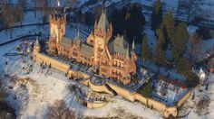 Drachenburg Castle. Castle in Germany, Europe