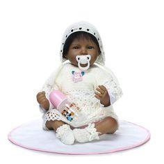 Dolls & Stuffed Toys Obliging 55cm Silicone Reborn Baby Dolls Lifelike Girl Real Baby Dolls Vinyl Princess Toddler Babies Dolls Bebes Reborn Menina Bonecas