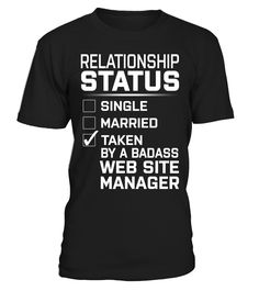Web Site Manager - Relationship Status