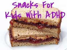 Healthy snack options for your ADHD child