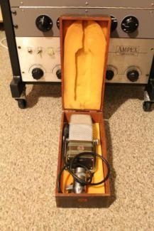 Vintage RCA 44-BX Ribbon Microphone (Neumann, Shure) in Baden-Württemberg - Laufenburg (Baden) | Musikinstrumente und Zubehör gebraucht kaufen | eBay Kleinanzeigen