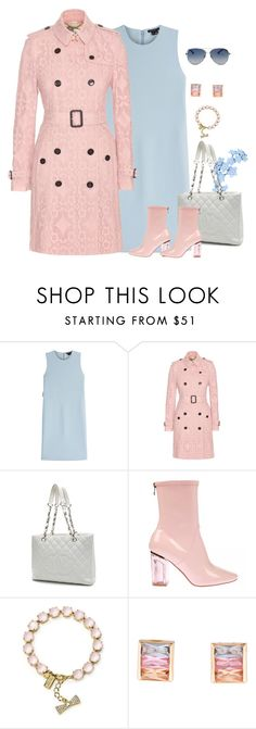 """fresh flowers"" by aneetaalex ❤ liked on Polyvore featuring Theory, Burberry, Chanel, Kate Spade, Valentino, women's clothing, women, female, woman and misses"