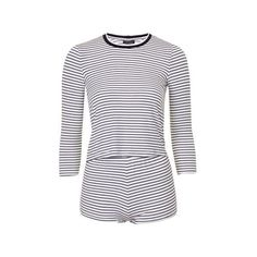 61324db77d TopShop Petite Stripe Pyjama Set ( 29) ❤ liked on Polyvore featuring  intimates