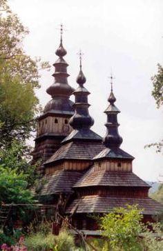 Cerkiew w Owczarach, Beskid Niski,