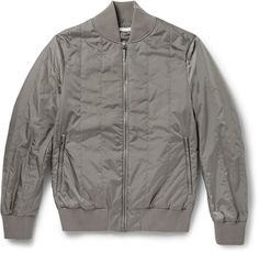 Tomas Maier Quilted Shell Bomber Jacket