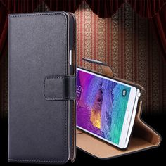 Real Genuine Leather Case for Samsung Galaxy S5 SV I9600 Retro Wallet Stand Phone Accessories Luxury Flip Cover for Galaxy S5 Price: USD 4.49 | United States