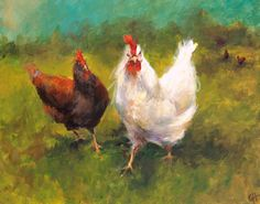 Chicken Approach Painting