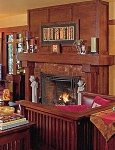 craftsman fireplace this could wotrk in my family room