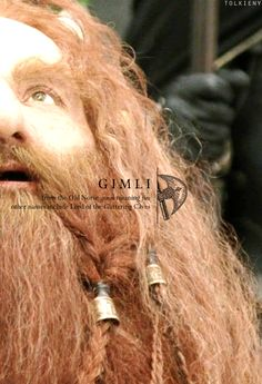 tolkieny:  the meaning of gimli  for hotdadthranduil