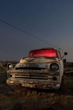 abandoned Dodge Pickup