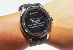 The LG Watch Hybrid looks like a traditional watch at first glance with its stainless-steel case and its physical hands. Android Wear Smartwatch, Calendar Reminder, Google Voice, Sound Speaker, Multi Touch, Watch Faces, Black Box, Apple Watch Series