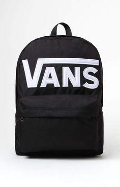 b226dc1df245 Vans Old Skool II Black   White Backpack Vans School Bags