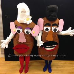 Coolest Interactive Mr. and Mrs. Potato Head Costumes... Coolest Halloween Costume Contest