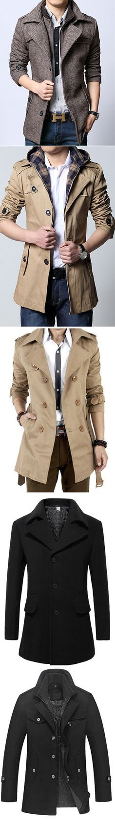 Men's Coats and Jackets. Fashion picked for you