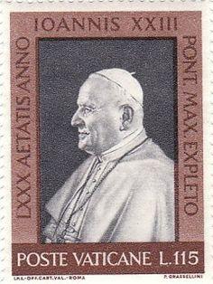 Vatican - Pope John XXIII stamp