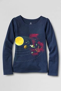 Lands' End Announces New Science Tees For Girls in Response to Montclair Mom's Letter