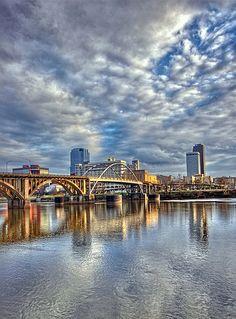Broadway Bridge, Arkansas River, Little Rock, Arkansas