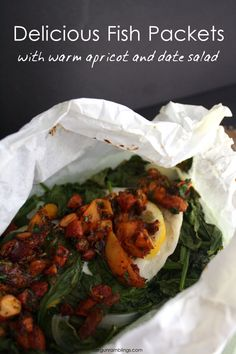 all in one fish packets super healthy easy light dinner recipe. great meal idea