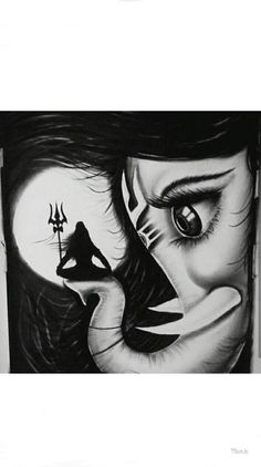 Lord shiva and ganesha Love Title - ganesha love. Size - Art by - JAYESH SONI Hope you all like this Indian Art Paintings, Art Drawings, Lord Ganesha Paintings, Buddha Art, Mandala Design Art, Art, Lord Shiva Hd Images, Krishna Art