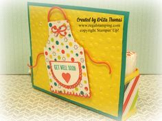 Get Well Apron Gift Box