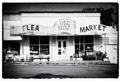 Old Mill Market by Ryan Burton Old Mill Flea Market in Fair Grove Missouri on main street. Old small town charm at this classic vintage market.