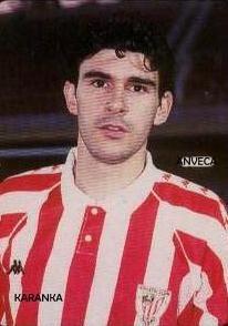 KARANKA (A. Bilbao - 1993-94) Football Stickers, Athletic Clubs, Bilbao, Soccer, Historical Photos, Trading Cards, Football Soccer, Football, European Football