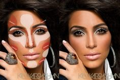 Kim Kardashians Make-up Truc -