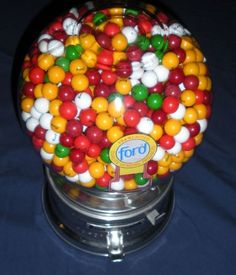 Original Vintage Ford Penny Gumball Machine from The 40s Glass Globe | eBay