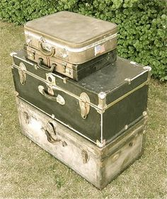 Transformer de vieilles valises en tables de chevet pour un style old