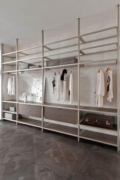 Luxury Interior Designers London Refferal: 8986091139 in 2020 Wardrobe Room, Wardrobe Design Bedroom, Wardrobe Furniture, Built In Wardrobe, Closet Bedroom, Closet Space, Ikea Bedroom Storage, Living Room Tv Cabinet, Ikea Living Room