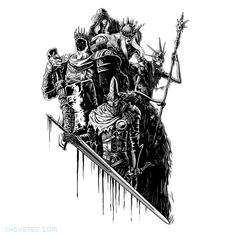 Lords of Cinder By Dicky the Darkwraith, today at The Yetee!