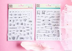 Décorer son bullet journal : Les accessoires Toga ! - Happiness Maker Bujo, Bullet Journal Inspiration, Scrapbooking, Happiness, Stamp, Happy, Day Planners, Art Journals, Bullet Journal