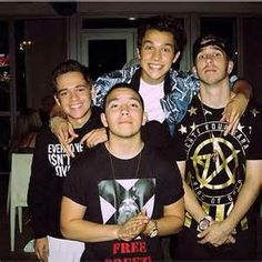Foolish Four, Austin, Alex, Robert and Zach