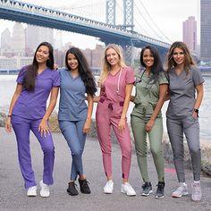 Cute Nursing Scrubs, Nursing Clothes, Cute Medical Scrubs, Healthcare Uniforms, Medical Uniforms, Scrubs Outfit, Scrubs Uniform, Stylish Scrubs, Beautiful Nurse