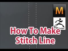 how to make Stitch Line. 3D Modeling (Marvelous Designer, Zbrush) - YouTube