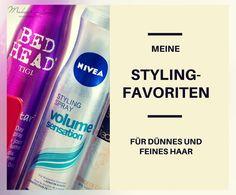 Meine Stylingfavoriten für dünnes und feines Haar
