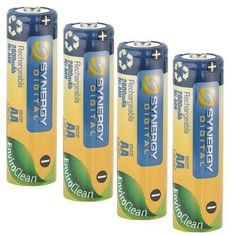 Olympus C-720 Digital Camera Battery Replacement for 4 AA NiMH 2800mAh Rechargeable Batteries