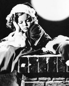 Shirley Temple | 1930's publicity photo as Santa sleeping on… | Flickr