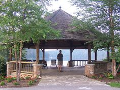 Went to a wedding here about 10 yrs ago. This is the very gazebo Baby and her father  had their argument in the movie Dirty Dancing. Mountain Lake Resort was where parts of the movie were filmed.