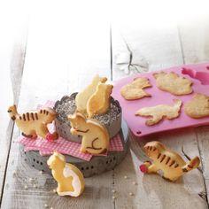 Birkmann Stampo per Dolci, Biscotti, Cioccolato, Muffin, Budini in Silicone a Forma di Gatto, Stampi e Decorazioni, Accessori per la Cucina ...